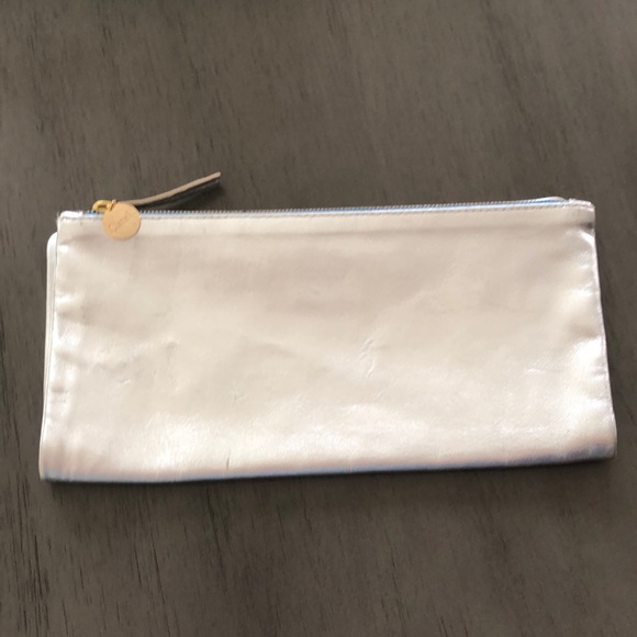 Clare Vivier Handbags - CLARE V FOLD OVER METALLIC CLUTCH